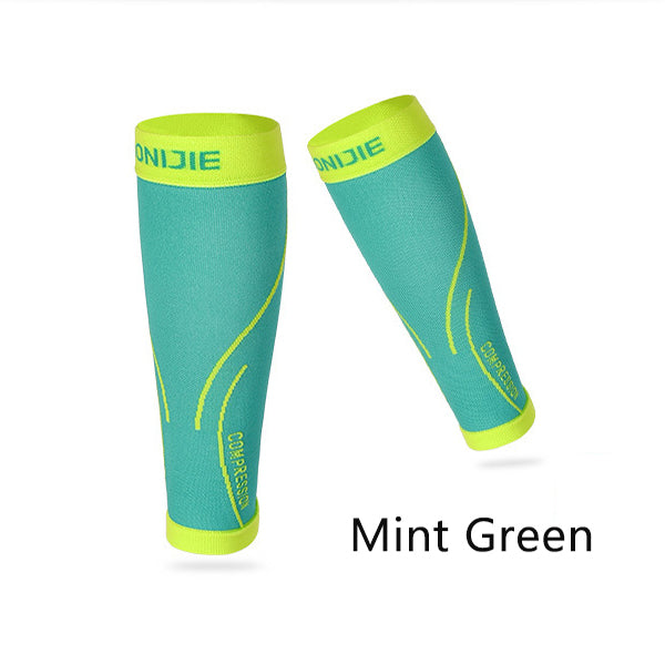 AONIJIE Running Socks Professional Compression Leg Sleeve Shin Guard Cycling Leg Warmers Football Basketball Sports Calf Support