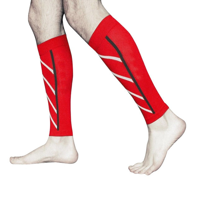 1 Pair  Exercise Calf Support Graduated Compression Socks Safety FS99