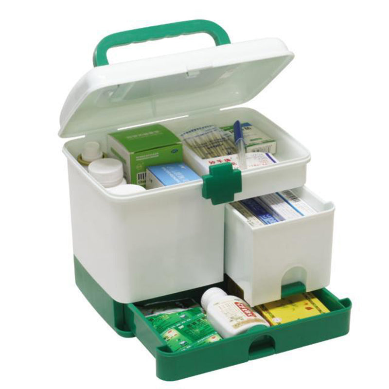 Plastic Storage Box Medicine Organizer Box Case Multi-layer First Aid Kit Big Capacity drawers Medicine Cabinet Storage Box