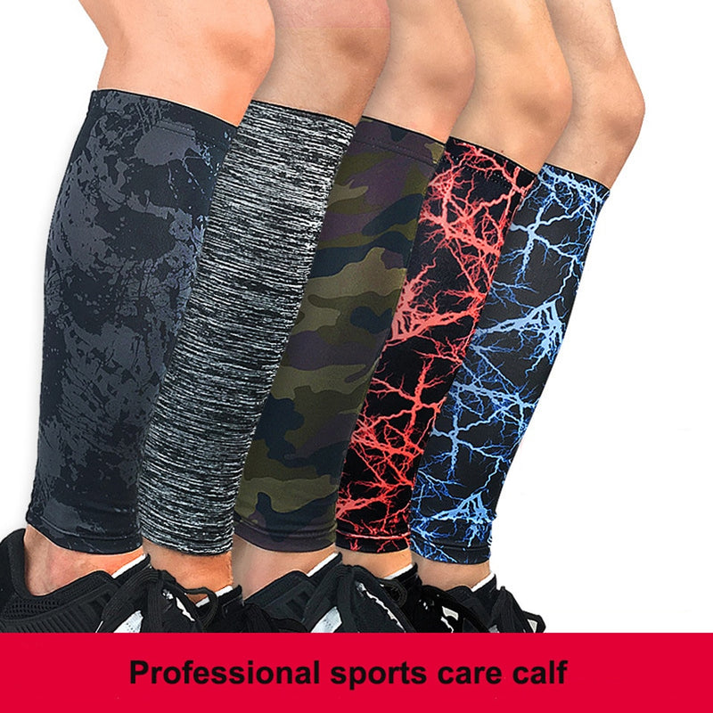 1PCS Calf Compression leg Sleeve Outdoor calf leg sleeve cycling socks Sports Safety Running Improved Leg Circulation