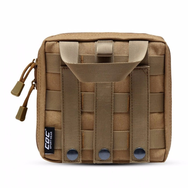 Military Molle EMT First Aid Kit Survival Gear Bag Combat Tactical Multi Medical Kit or Utility Tool Belt EDC Pouch