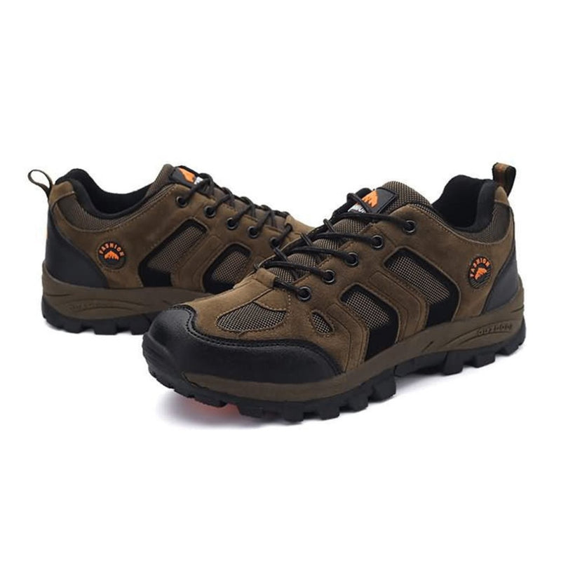 Breathable Flat Heel Outdoor Shoes Outdoor Sports Camping Walking Trekking Running Sneakers For Men Male YG46170