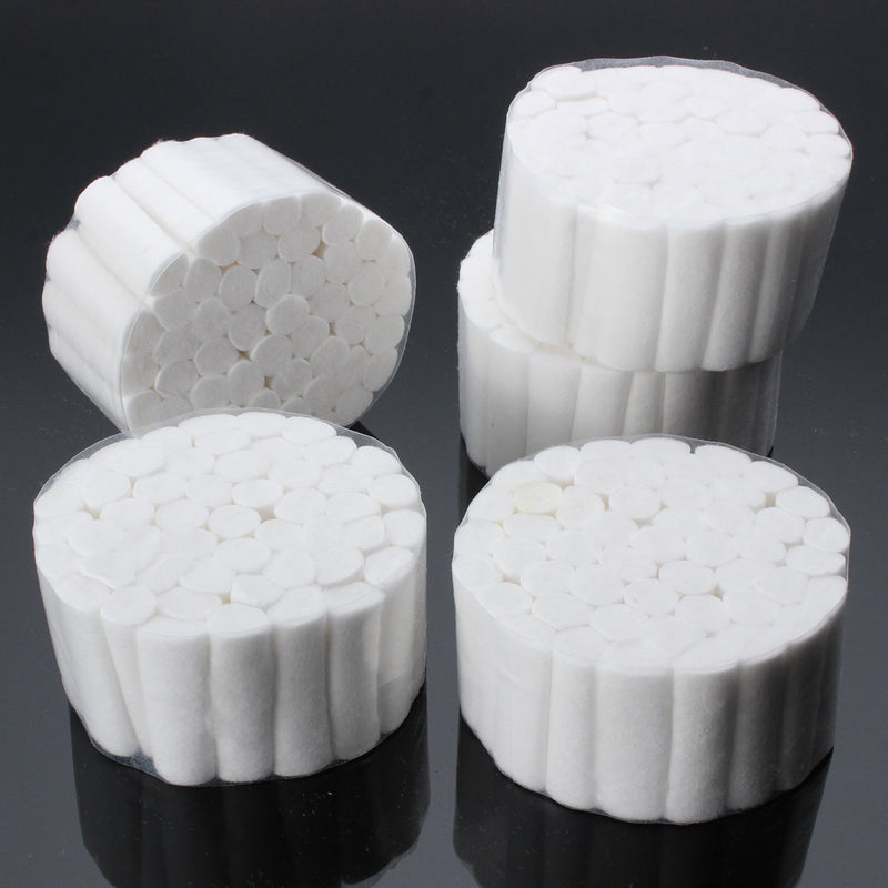 250pcs/lot Disposable Dental Cotton Rolls Absorbent Medical Surgical Haemostasis Absorb Slobber 10*38mm Dentist Supplies