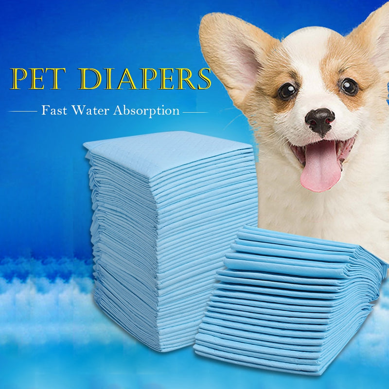 Multi-size Pet Absorbent Diapers Dog Urine Pad Pet Dog Health Pants Diaper for Dogs Pet Dog Cleaning Supplies
