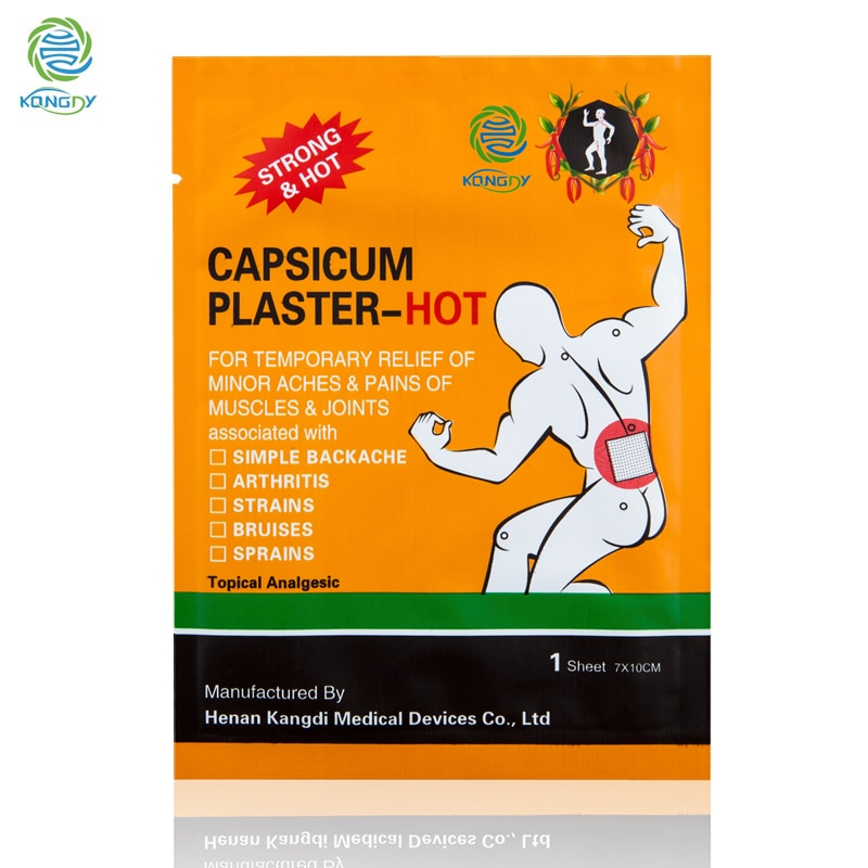KONGDY Summer Clearance 10 Pieces/lot Pain Relief Patch Health Care Medical Capsicum Plaster for Neck Shoulder Pain Relieving