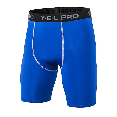 c2fbfe4c70 ... Yuerlian Hot Sale Quick Dry Gym Sport Leggings Crossfit Men's Shorts  Soccer Undercover Jogging Compression Tights ...