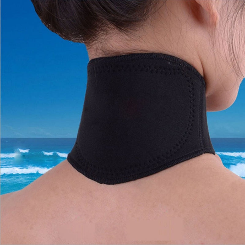 Spontaneous Heating Neck Massager Magnetic Therapy Cervical Vertebra Protection Body Massager Health Care Support new