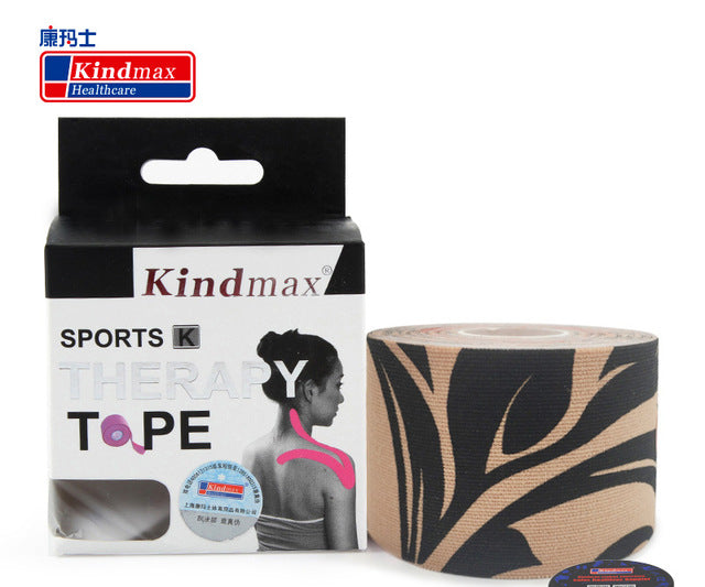 Kindmax Kinesiology Tape 5cm x 5M Muscle Bandage Athletic Sports Kinesio Cotton Waterproof Strapping Football Knee Protectors
