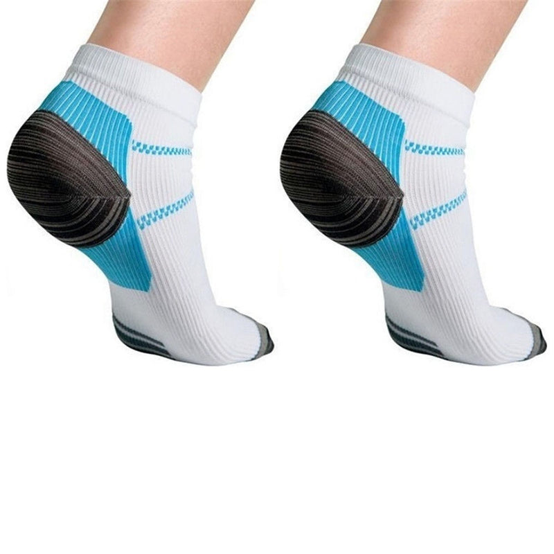New 2 Foot Compression Sock For Plantar Fasciitis Heel Spurs Pain  Sock