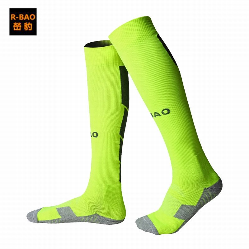 Outdoor Sports Football Socks Stocking Warmers Breathable Thicken Knee-high Compression Soccer Cycling Socks Professional