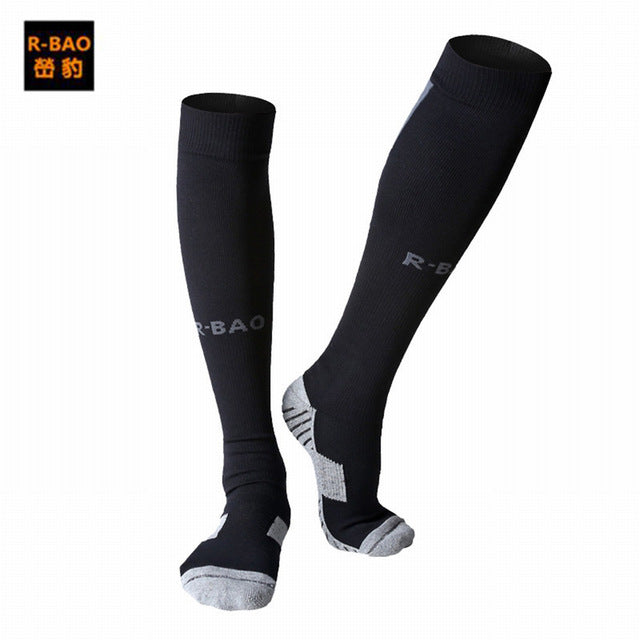 0bef18593df Outdoor Sports Football Socks Stocking Warmers Breathable Thicken Knee-high  Compression Soccer Cycling Socks Professional