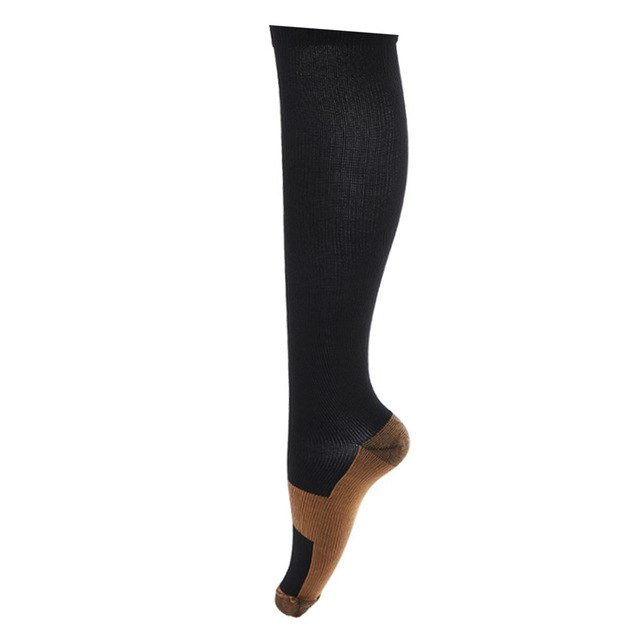 1bfa3780a0 Unisex Anti-Fatigue Compression Socks Foot Anti Fatigue Soft Pain Relief  Miracle Copper Magic Socks Support Knee High Sock