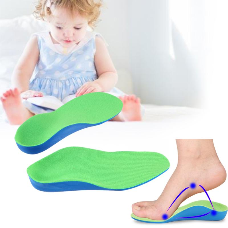 10 Size Children Kids Eva Orthopedic Insoles Children Flat Foot Arch Support Orthotic Pads Correction Health Feet Care Tool