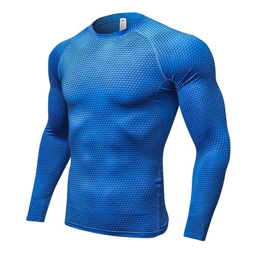 Yuerlian Compression Running T-Shirt Man Tight Jersey Fitness Sport Suit Gym Running Top Shirt Demix Bodybuilding Sportswear