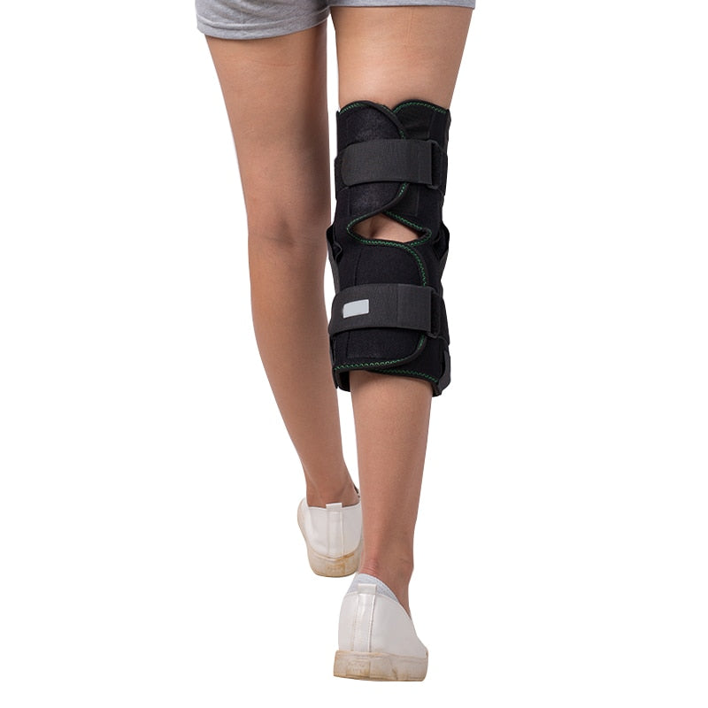 Closed Knee Support Medical Grade Quality HELPS injured arthritic knees strains sprains pain instability recovery&rehabilitation