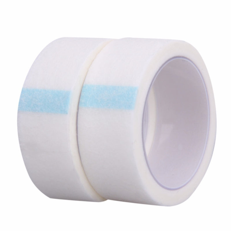 New 2 Rolls Medical Tape Professional Non-woven Medicine Use Eyelashes Extension Micropore Paper Tape White DIY Felt Tape