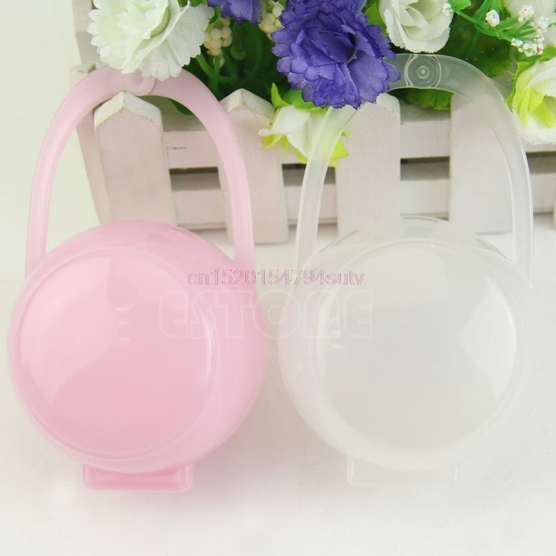 Baby Pacifier Nipple Cradle Case Holder Storage Box #h055#
