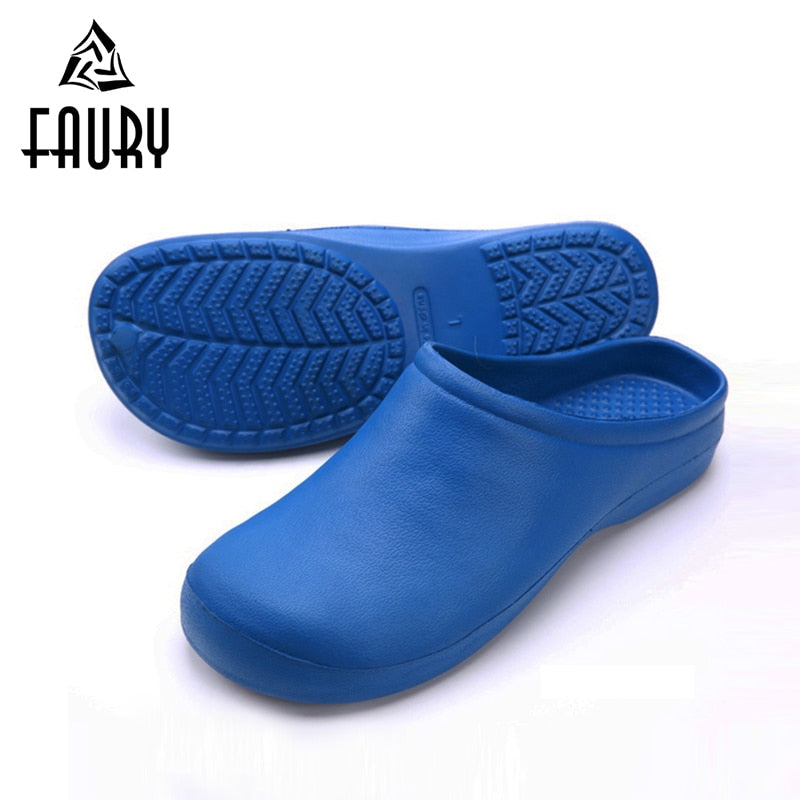 2018 High Quality Hospital Medical Supplies for Doctor Nurse Surgeon Drugshop Surgical Scrub Work Shoes Summer Non-slip Slippers