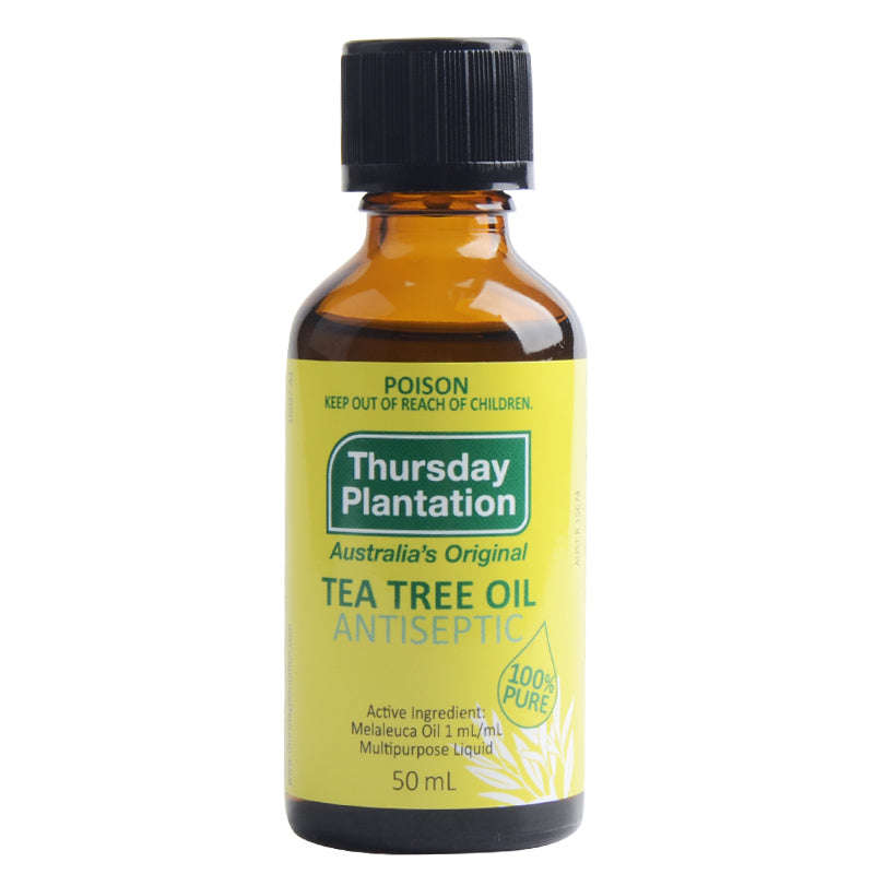 Australia high quality 100%Pure Tea Tree Oil 50ml Acne Treatment Remove Shrink Pore Antiseptic powerful acne remover