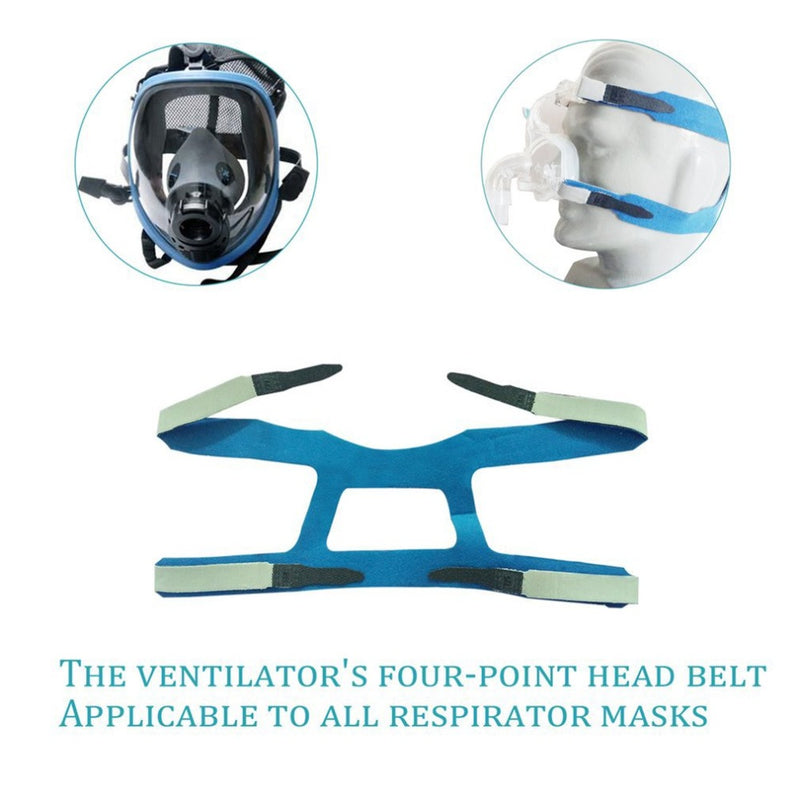 1PCS Universal Headgear Comfort Gel Full Mask Safe Environmental Replacement Part CPAP Head band Without Mask