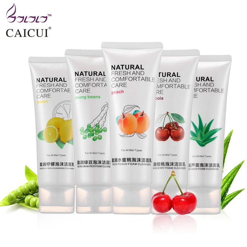 caicui vitamin essence cleansing cream cleaner pores whitening face care oil-control blackhead pigment plant skin care hydrating