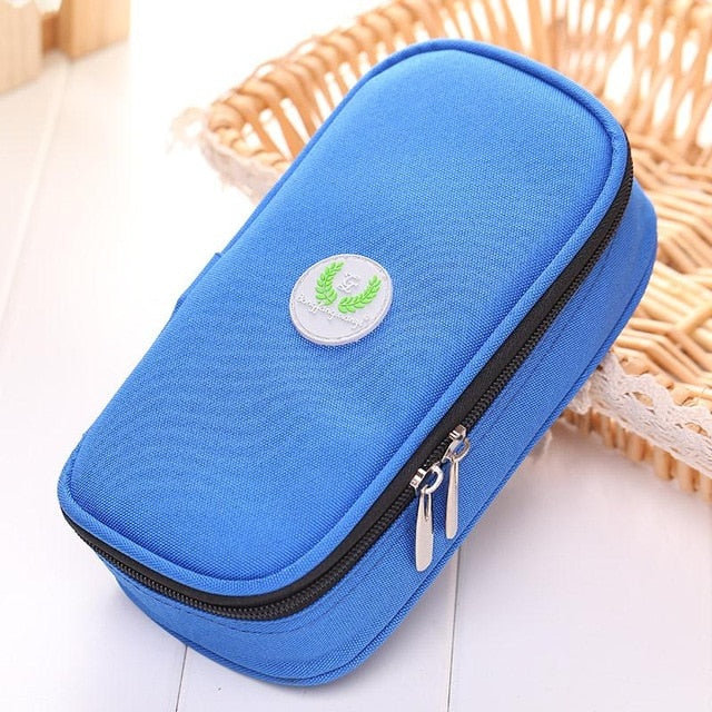Portable Diabetic Insulin Ice Pack Cooler Bags Protector Case Supply Injector Wallet Functional Bags Drop shipping