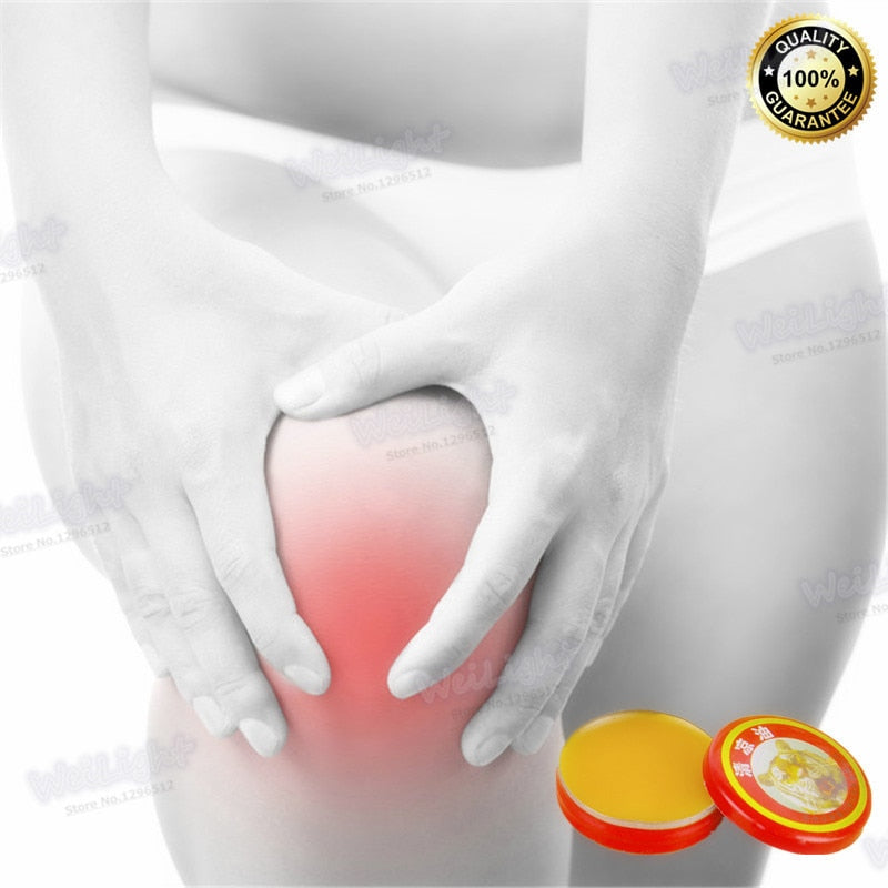4g / Box Herbal Menthol Self Adhesive Medical Plaster Pain Relief Patch for Sore Muscles Same as Salonpas Pain Patc