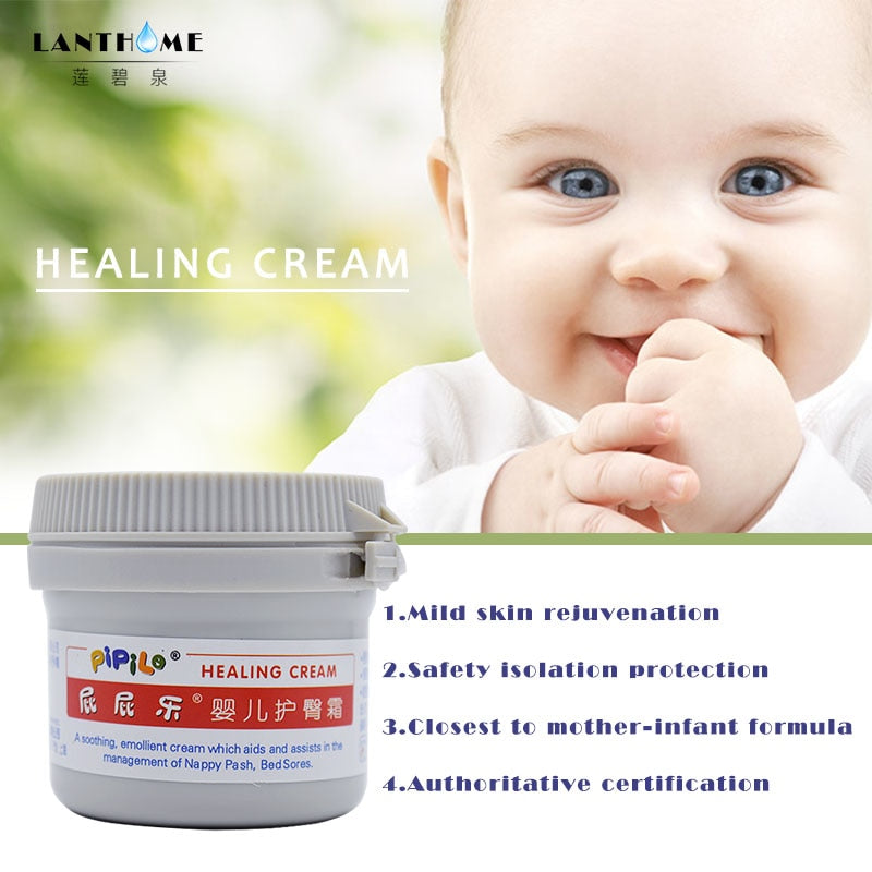 PIPILE Healing Cream Diaper Nappy Rash Ointment Hemorrhoids Psoriasis Dermatitis and Eczema Body Care Cream Smooth Burns Wound