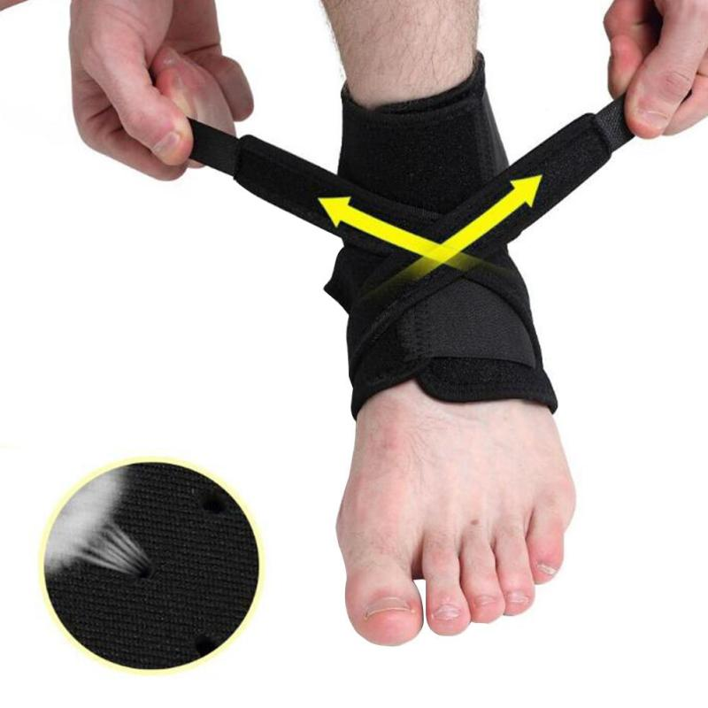 Anti Sprain Ankle Wrap Wound Protection Sports Badminton Basketball Protector Ankle Support Elastic Bandage L3