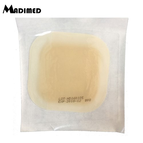 10pcs/box sticky hydrocolloid wound dressing with border for pressure sores care bedsores nursing ulcers paste sticker