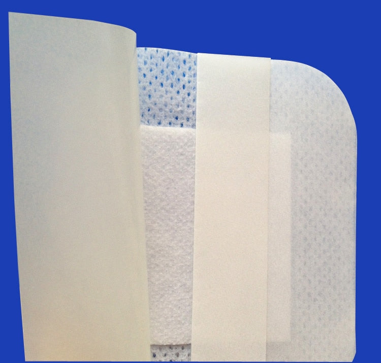 20pcs 9cm*15cm nonwoven wound dressing  surgical pad non woven disposable dressing filter sheet surgical wound care manufacturer
