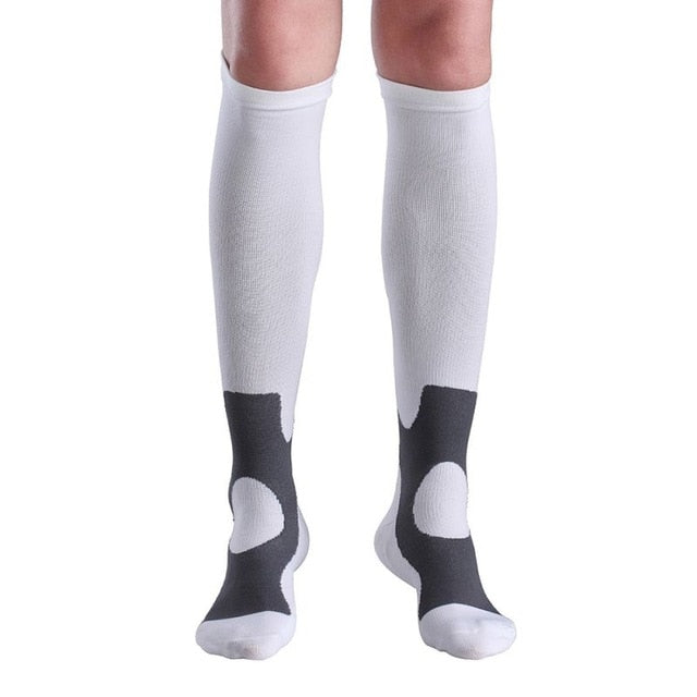 2018 Outdoor sports compression pressure socks Knee Stockings 30-40 mmhg Leg Socks Relief Pain Support Socks Relief Compression