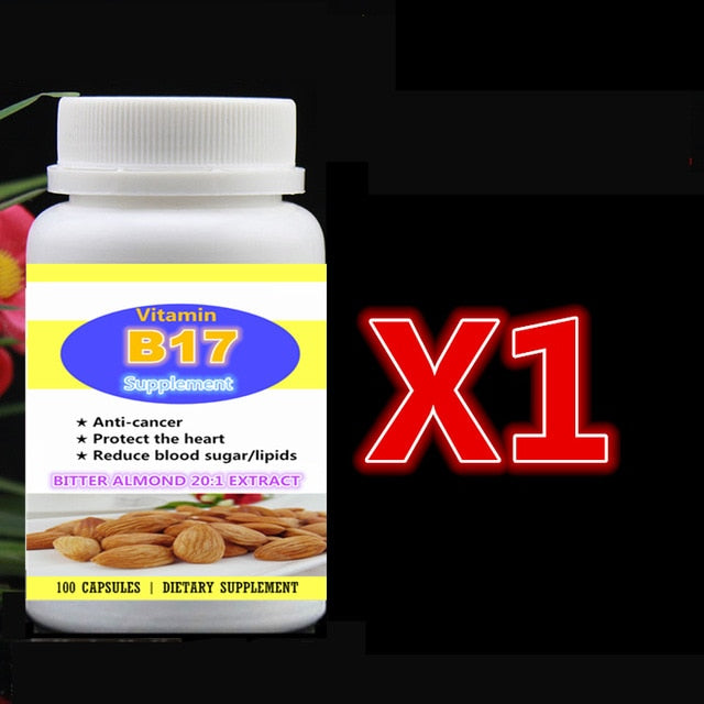 Vitamin B17 Supplement Bitter Almond 20:1 Extract Bitter Apricot Seed,Anti-Cancer Protect Heart Reduce Blood Sugar and Lipids
