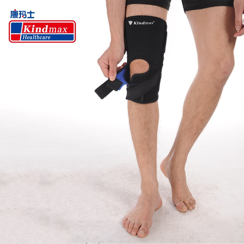 Kindmax Short Knee Support Elastic Knee Pads Hole Kneepad Sports Safety Brand Quality