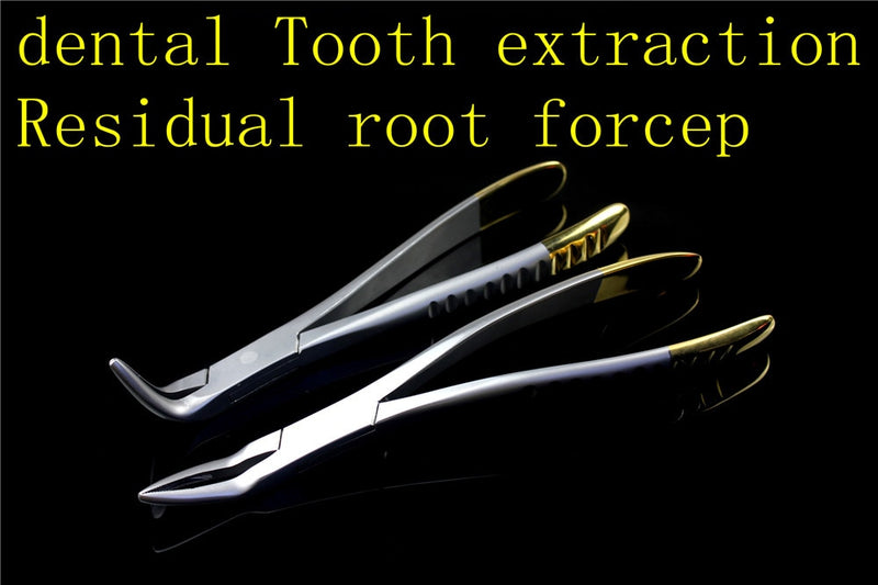 Dental root clamp Common upper and lower jaw extraction forceps residual root extraction universal tooth forceps Dentist Tools