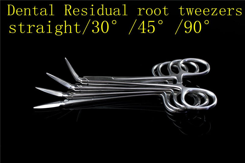 oral cavity Stainless Steel Dental Residual root tweezers forceps Tooth pieces remove and Minimally invasive clip tooth 4 Type