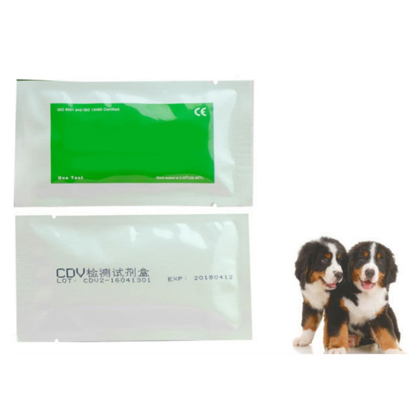 Test Paper Feline Tick Cat Dog Distemper Virus Test CDV/CPV Home Nasal Swab Health Test Paper for Home Pet Medical Supplies