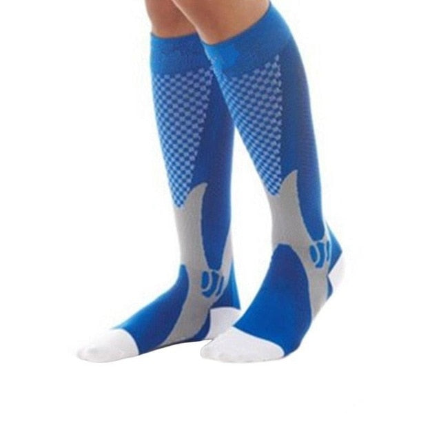 New Compression Socks For Varicose Veins Men Women Medical Varicose Veins Leg Relief Pain Knee High Stockings Sports Socks