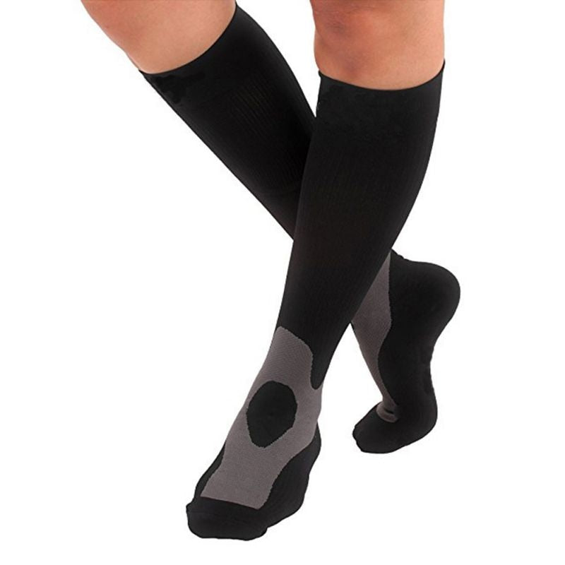 Fitness compression pressure socks Knee Stockings 30-40 mmhg Leg Socks Relief Pain Support Socks Relief Compression