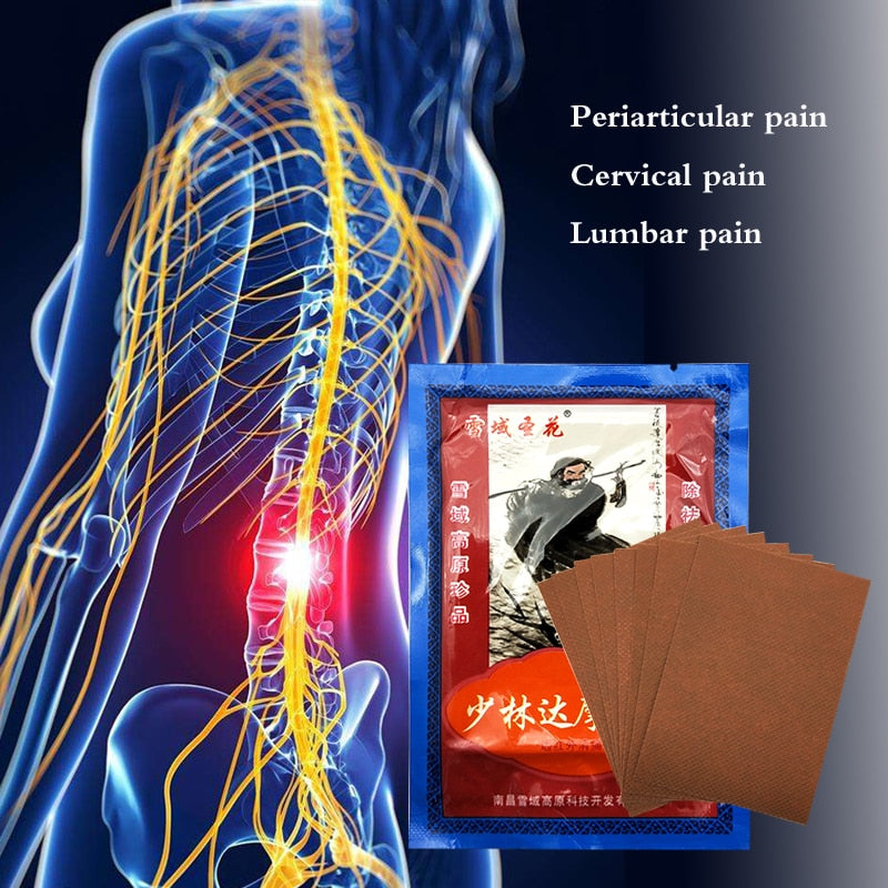 24PCS Knee Joint Pain Relieving Patch kneeling at arthritis Back Pain Medical Patches Chinese shaolin Herbs Plasters