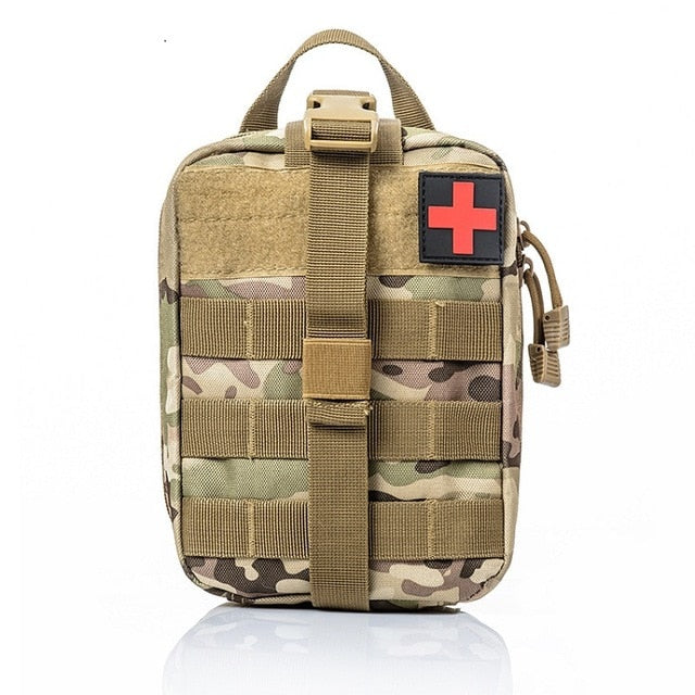 Outdoor sports should Mountaineering rock climbing Lifesaving bag Tactical medical Wild survival emergency kit