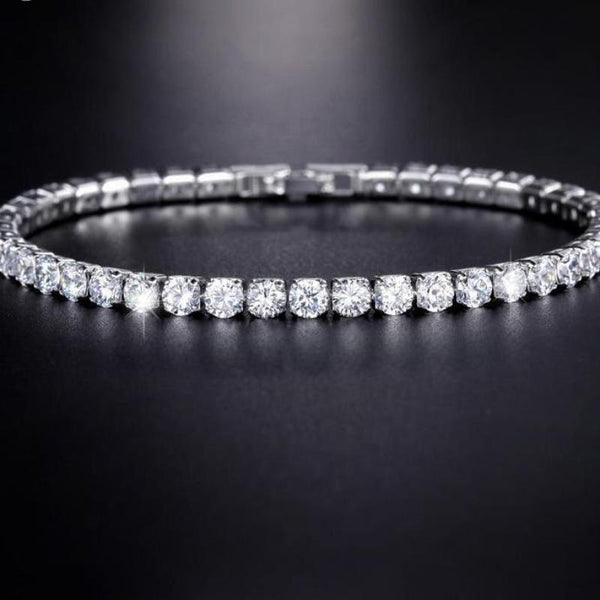 Silver Cubic Bracelet - Good For You Beauty