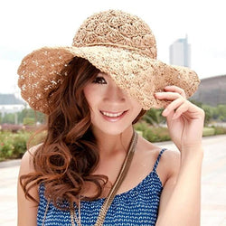 Beach Straw Hat - Good For You Beauty
