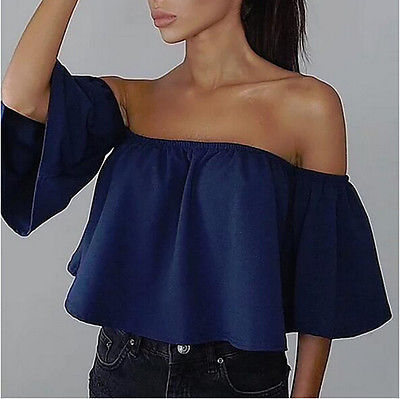 Casual Lace Off-shoulder Top - Good For You Beauty