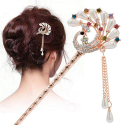 Flower Tassel Hair Stick - Good For You Beauty