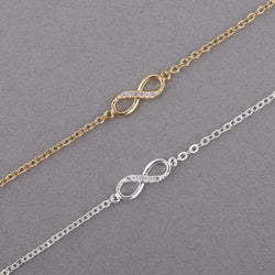 Infinity Crystal Bracelet - Good For You Beauty