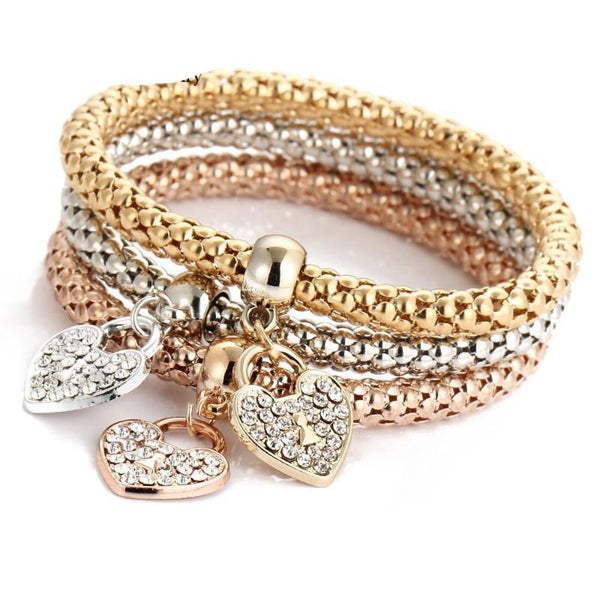 Gold Wrap Charm Bracelet - Good For You Beauty