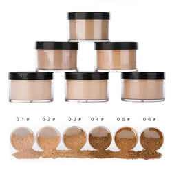 Professional Makeup Loose Foundation Finishing Powder Matte Transparent - Good For You Beauty