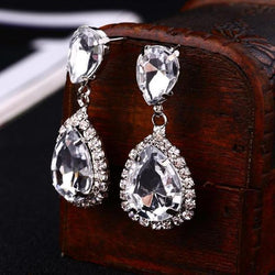 Crystal Drop Earring - Good For You Beauty