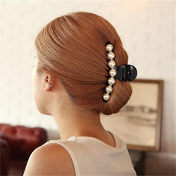 Shiny Pearl Hair Claw - Good For You Beauty